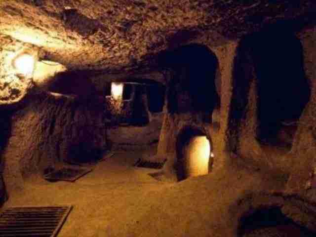 Derinkuyu, η υπόγεια πόλη