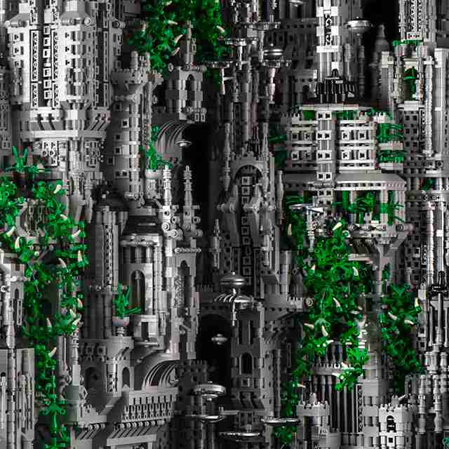 Εντυπωσιακή κατασκευή με 200.000 τουβλάκια Lego