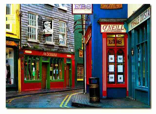 Kinsale, η πιο πολύχρωμη πόλη!