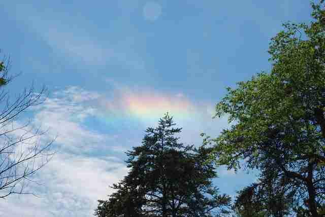 Fire Rainbow, ένα σπάνιο φαινόμενο