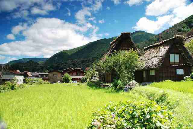 """Τα σπίτια """"ανοιχτές παλάμες"""" στην Ιαπωνία"""