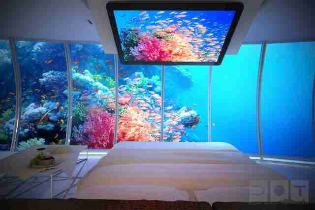 Water Discus Hotel, Ντουμπάι