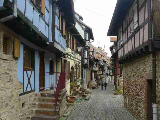 Eguisheim, το ωραιότερο χωριό της Γαλλίας
