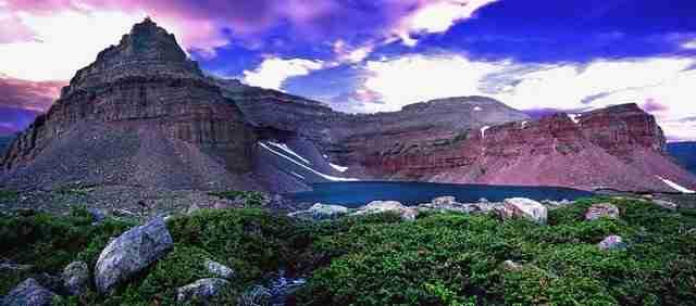 Uintas Mountains of Utah