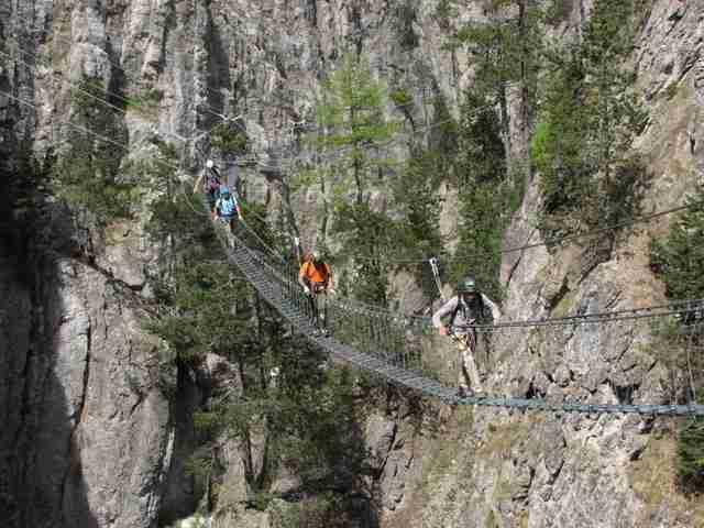 Ξύλινη γέφυρα μήκους 468 μέτρων στην Ιταλία