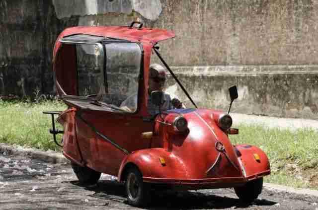 35 πολύ παράξενα οχήματα