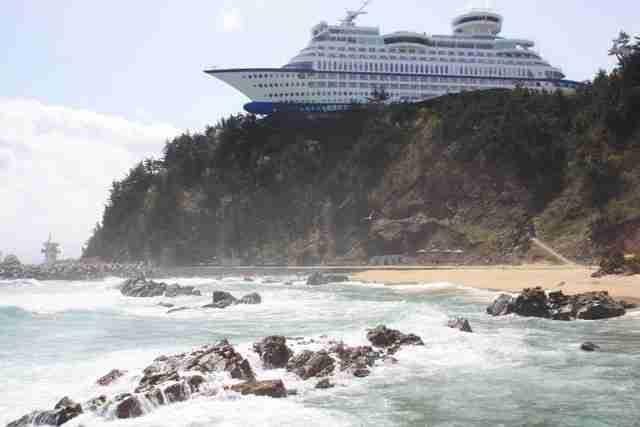 Hotel Cruise Sun, το ξενοδοχείο που μοιάζει με πλοίο