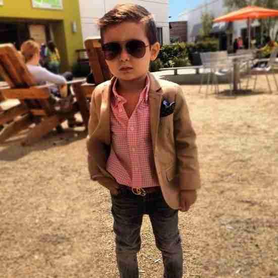Alonso Mateo, ένα 5χρονο fashion icon