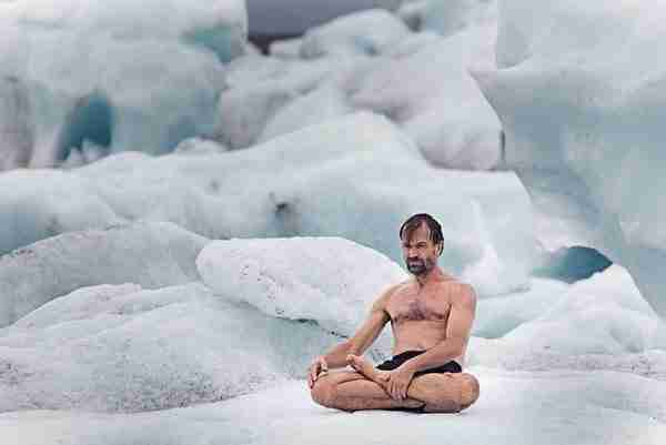 "Wim Hof, ο ""Iceman"""
