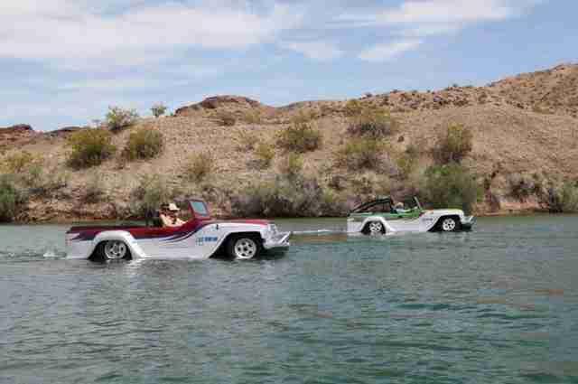 WaterCar Panther, το ταχύτερο και πιο ικανό αμφίβιο αυτοκίνητο