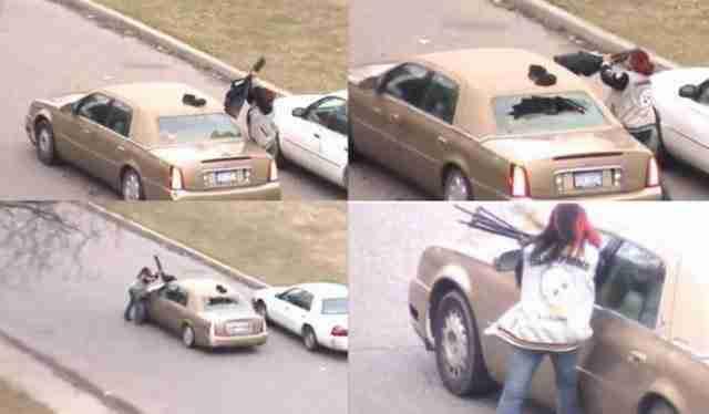 Εκδικούνται καταστρέφοντας το αυτοκίνητο του..