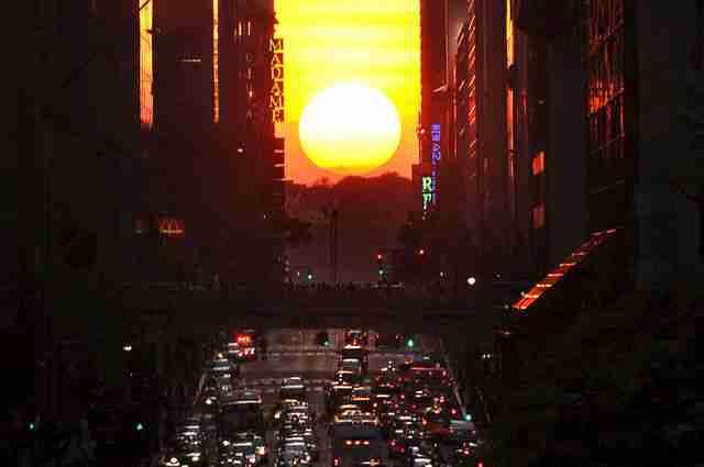 Μανχάτανχετζ: Το ιδανικότερο ηλιοβασίλεμα του κόσμου!