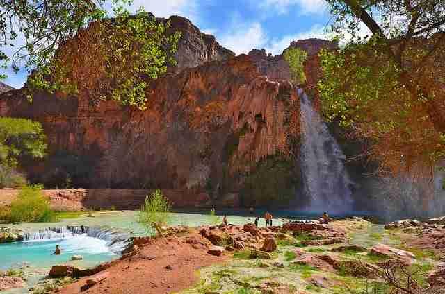 Havasu Falls, ένας κρυμμένος καταρράκτης μέσα στο Γκραν Κάνυον