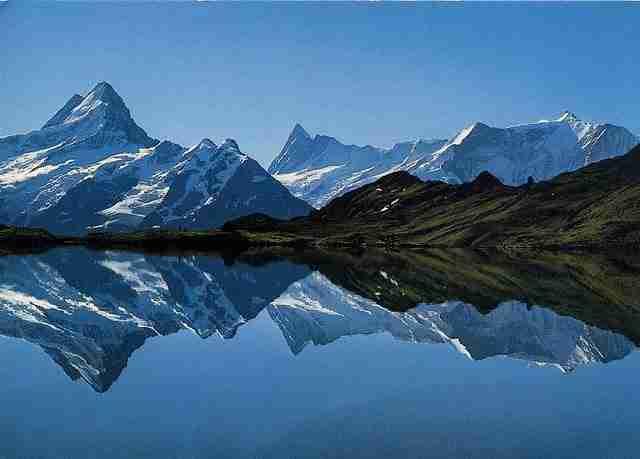 Bachalpsee, μια λίμνη σε υψόμετρο 2.265 μέτρων!