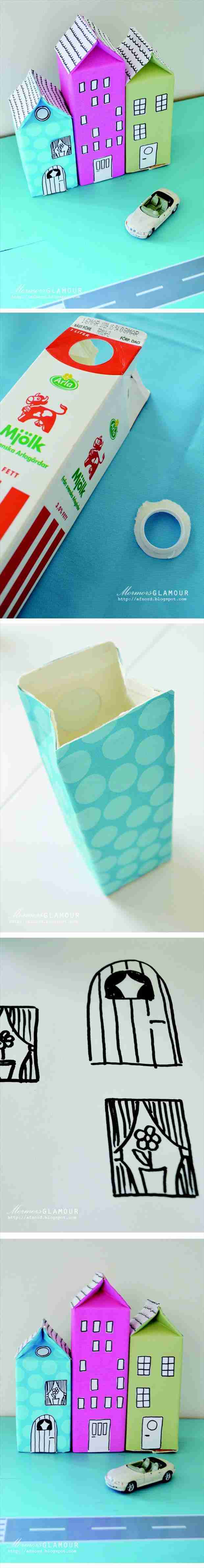 make-fake-toy-houses-from-old-milk-cartons