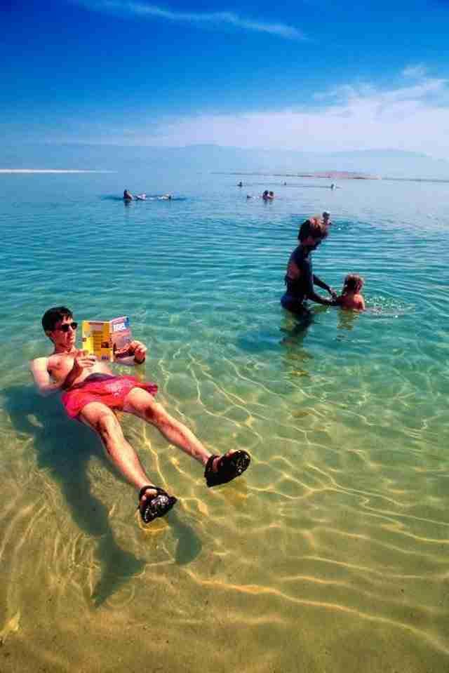 Νεκρά θάλασσα, η θάλασσα που είναι αδύνατον να βυθιστείς