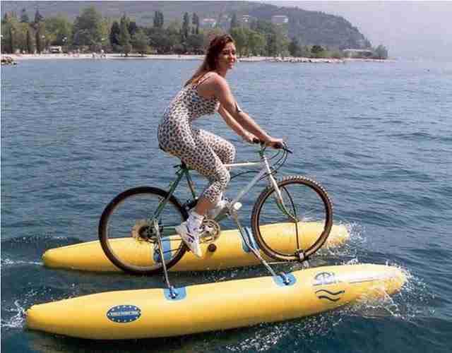 Βάρκα ποδήλατο
