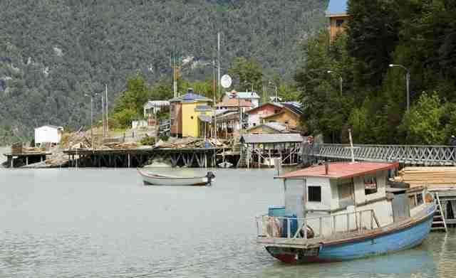 Caleta Tortel , Chile