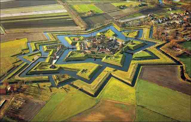 Fort Bourtange, Groningen, Netherlands