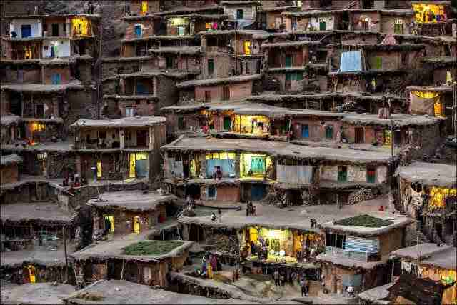 Mountain Village in Iran