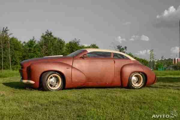 Πωλείται αυτοκίνητο καλυμμένο εντελώς με δέρμα βίσωνα