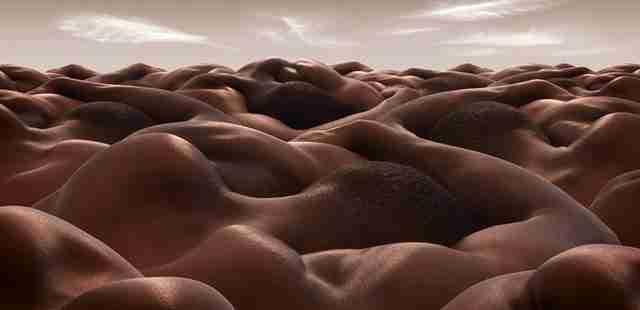 Τοπία από ανθρώπινα σώματα