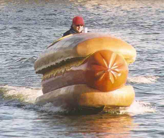 Βάρκα Hot Dog