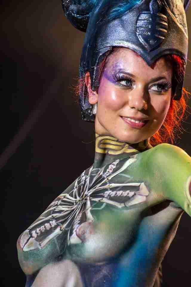 Παγκόσμιο φεστιβάλ Bodypainting 2013