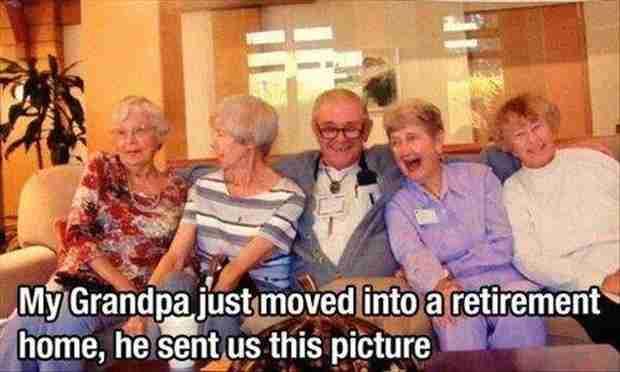 Τελικά όταν είσαι ηλικιωμένος κάνεις ότι θες