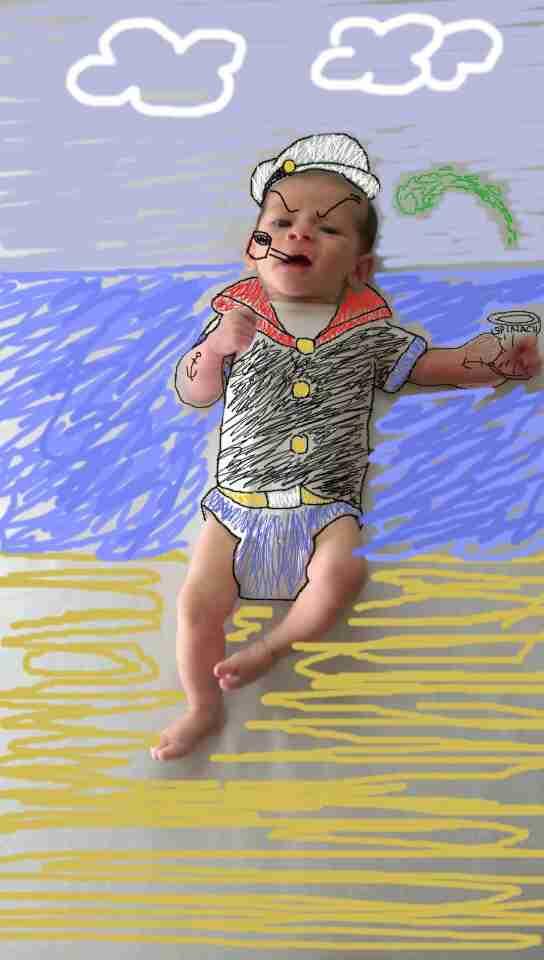 Μαμά μετατρέπει φωτογραφίες του μωρού της σε φανταστικές περιπέτειες