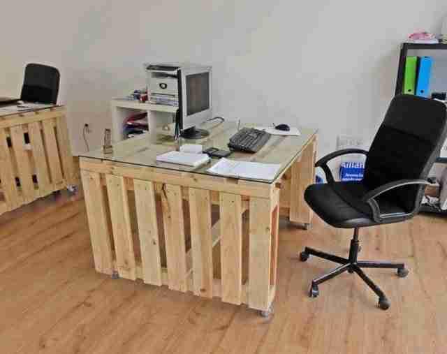 25 - Como hacer una mesa de ordenador ...