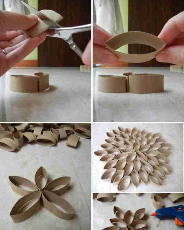 40 πρωτότυπες ιδέες για κατασκευές από χαρτί τουαλέτας