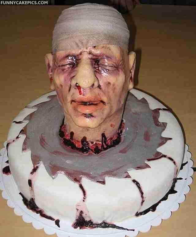 Παράξενες τούρτες σε απίθανα σχήματα