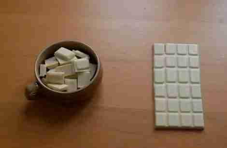 Το παζλ με τη σοκολάτα