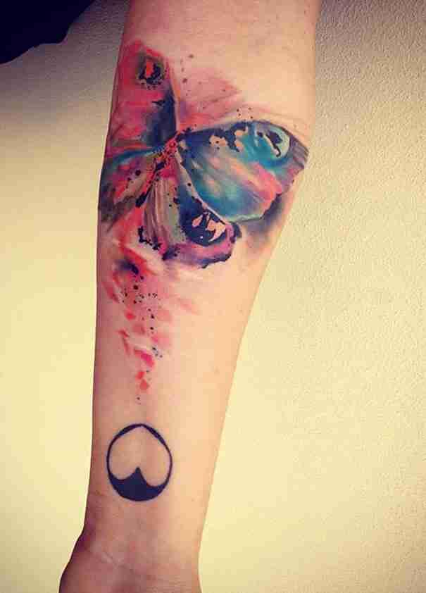 30 παραδείγματα καλλιτεχνικών Τατουάζ από ακουαρέλα