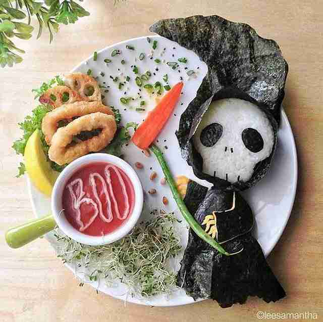 dinfo.gr - Μαμά έγινε διάσημη παίζοντας με το φαγητό των παιδιών της