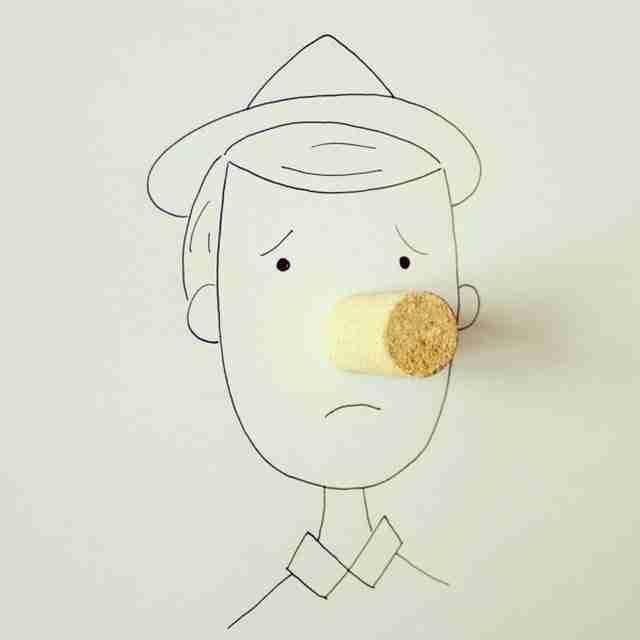 dinfo.gr - Ζωγραφίζοντας με απλά, καθημερινά αντικείμενα