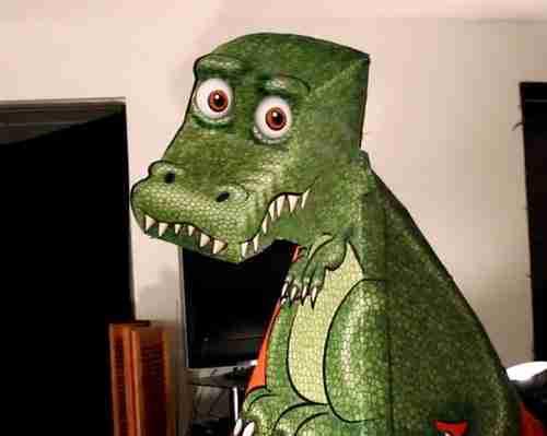 dinfo.gr - Είναι απίστευτο αλλά αυτός ο δράκος είναι απλά μια οφθαλμαπάτη!