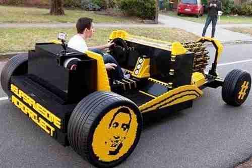 dinfo.gr - Αυτοκίνητο από Lego κινείται με πεπιεσμένο αέρα