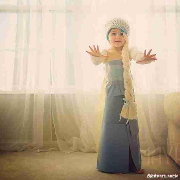 dinfo.gr - 4χρονο κοριτσάκι δημιουργεί απίθανα φορέματα από χαρτί!