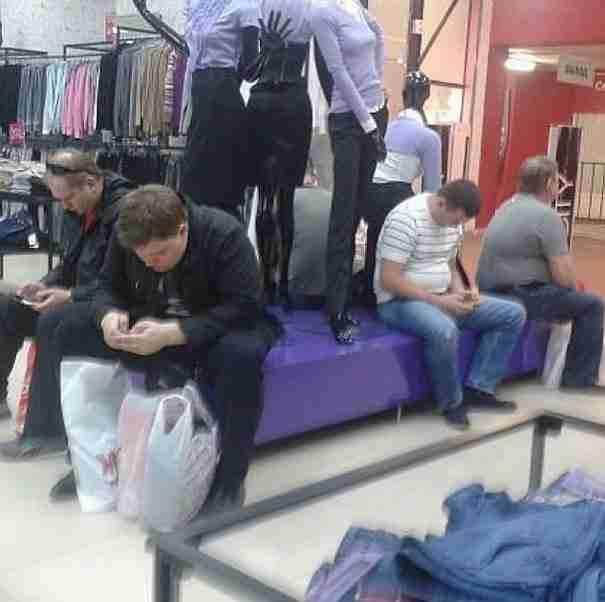 dinfo.gr - 25 άντρες πείστηκαν να πάνε για ψώνια με τη γυναίκα τους. Δείτε πως κατέληξαν!