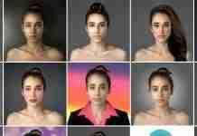 Χρησιμοποιώντας το photoshop παρουσιάζει τα πρότυπα ομορφιάς των γυναικών σε 25 χώρες του κόσμου