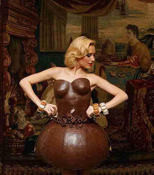 20 από τα πιο παράξενα έργα τέχνης που φτιάχτηκαν από σοκολάτα