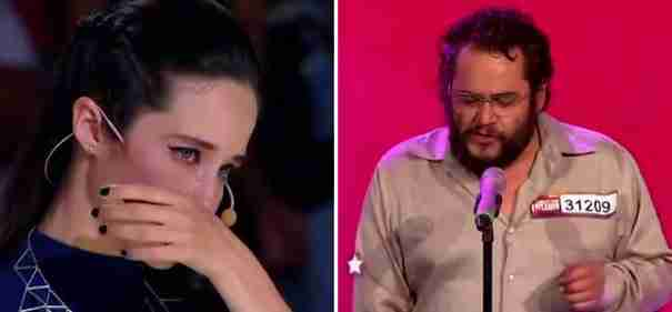 Ένας άστεγος άντρας ανεβαίνει για να τραγουδήσει στο Μεξικό Έχεις Ταλέντο. Τα υπόλοιπα είναι ιστορία