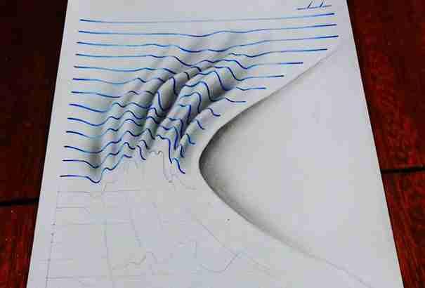 Μετατρέπει τα τετράδια του σε μικρά έργα τέχνης! Και είναι μόλις 15 ετών!