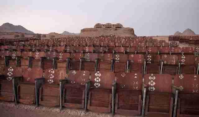 Χάζευε στο Google Maps όταν ανακάλυψε ένα παράξενο θέαμα στη μέση της ερήμου.