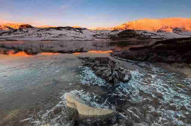 Λίμνη Belmeken στο Εθνικό Πάρκο Rila, Βουλγαρία