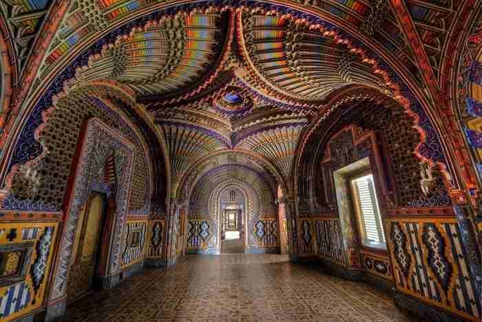 Κάστρο Sammezzano, Τοσκάνη, Ιταλία