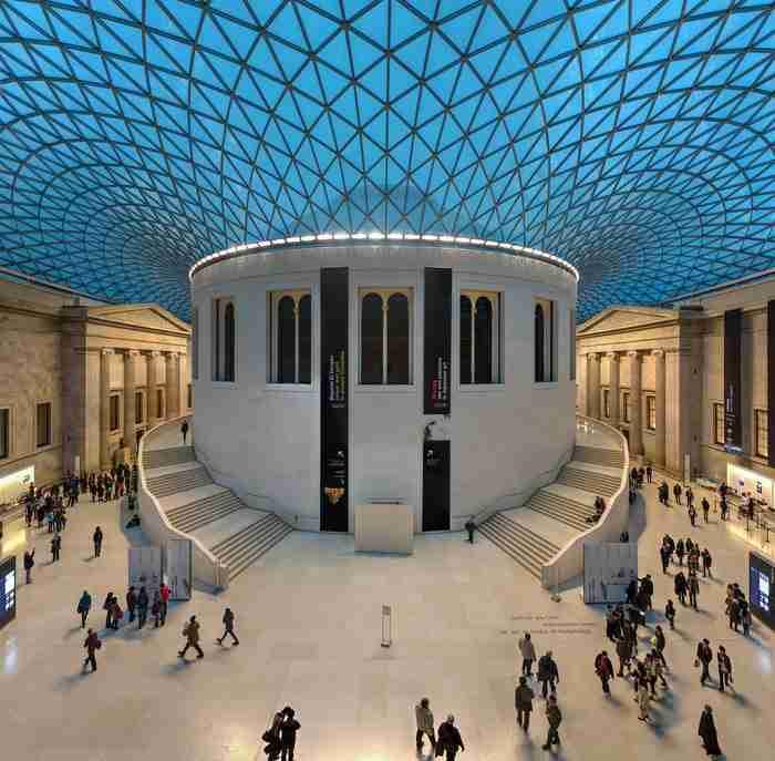 Βρετανικό Μουσείο Great Court, Λονδίνο, Αγγλία