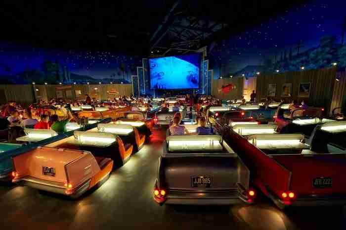 Sci-Fi Dine-in, Disney Studios στο Χόλιγουντ